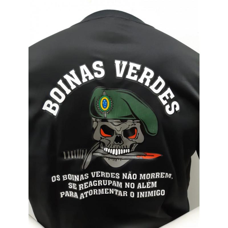 Camiseta Dry Fit O Infanti Boinas Verdes bd6da3fec5a