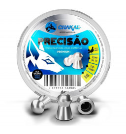 Chumbinho Precisão 5.5mm - Chakal
