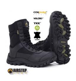 BOTA AIRSTEP ARMY C/ZIPER - BLACK - 8628-1