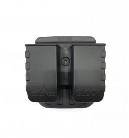 Porta Carregador Duplo Externo Só Coldres Glock