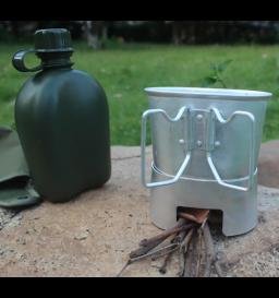 Cantil Nautika Apache com caneca e espiriteira de alumínio