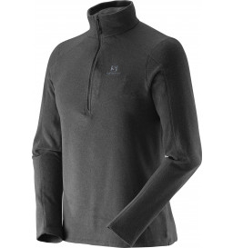 Blusa Fleece Salomon Polar Preto Masculina