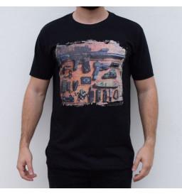 Camiseta Hunterbt Estampa Armas Táticas