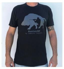 Camiseta Hunterbt Tatuagem Samurai Caçador