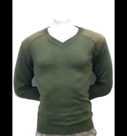 Blusão Estilo Militar Verde Oliva