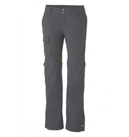 Calça Bermuda Columbia Silver Ridge Convertible Pant Cinza (028 Grill)