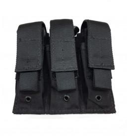 Bolso 3X Pistol Modular Dacs - PRETO