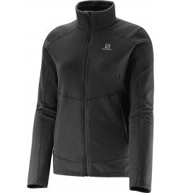 Jaqueta Fleece Salomon Polar Preto Feminino