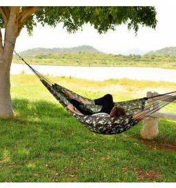 Rede Descanso Camping Camuflada Exercito