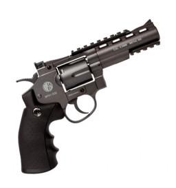 REVOLVER DE PRESSÃO Co2 WIN GUN - 701 4,5mm FULL METAL