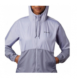 Jaqueta Columbia Flash Forward WindBreaker Twilight Roxa Feminina (580)