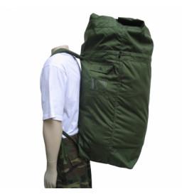 Saco Para Roupas Extra Grande verde/preto - Militar Brasil
