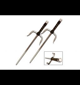 Adaga Sai Arma Ninja Shinobi Pequena- Master Cutlery 2309c