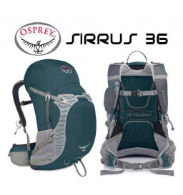 Mochila Osprey Sirrus 36 Litros Verde M/G