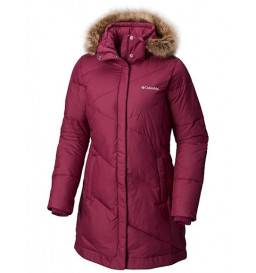 Jaqueta Columbia Snow Eclipse Dark Raspberry(521) Feminina