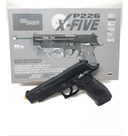 PISTOLA AIRSOFT CO2 SIG SAUER -  P226 X-FIVE FULL METAL
