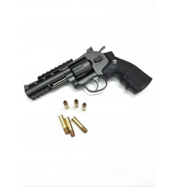 REVOLVER DE PRESSÃO Co2 WIN GUN - 701 4,5mm FULL METAL