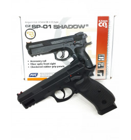 PISTOLA DE PRESSÃO ASG - Co2 CZ 75- SP-01 SHADOW 4,5MM