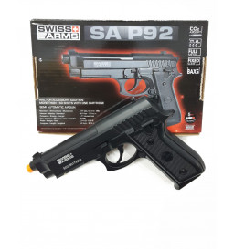 PISTOLA DE PRESSÃO SWISS ARMS - Co2 SA - P92 4,5MM