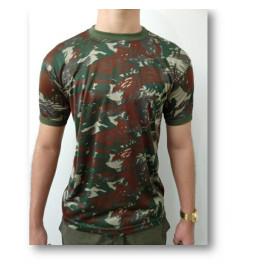 Camiseta Camuflada O Infanti Padrão E.B Dry Fit - NOVO